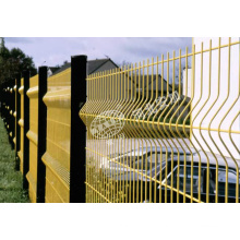 Security Metal Fencing with Square Post for Building Material