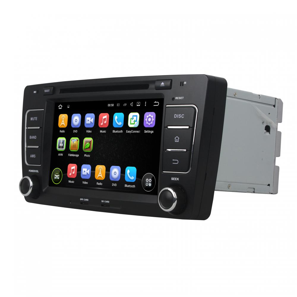 Skoda OCTAVIA 2012 car DVD player