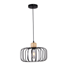 Modern new black iron outdoor pendant