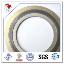 """Спиральная набивка прокладок 4 """"150 # ASME B16.20 Ss316 / Графит с прокладками из материала наружного кольца CS"""