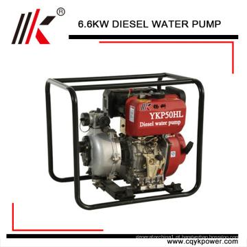 Alta pressão 4kw preço da bomba de água diesel set / 5hp bomba de água do motor diesel em dynamo gerador usina