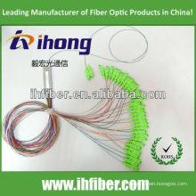 1 * 32 PLC Fibra Oprical Splitter com SC / UPC fabricante conectores de alta qualidade