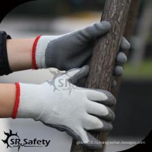 SRSAFETY 7ga Вязаный лайнер Латексная защитная перчатка