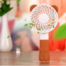 Mini Portable Handheld Fan USB Rechargeable Personal