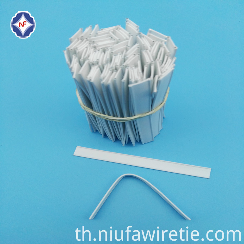 Plastic Double Wire Tin Tie Pre Cutted
