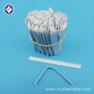 Plastic Double Wire Clip Bands for Bag