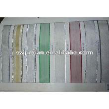 cordón de cinta metálica