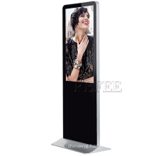 43 inch lcd touch screen windows floor standing digital display units