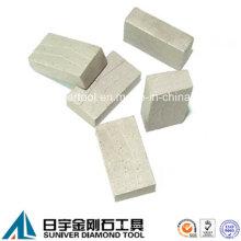 Sandwich Diamond Segment Stone Blade Cutting