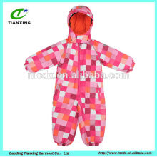 hoodies name brand chidren coverall ski jacket