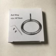 China for Bull Nose Ring brass cattle brass nose ring supply to Denmark Factories