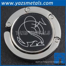 Gancho de bolsa dobrável de metal personalizado