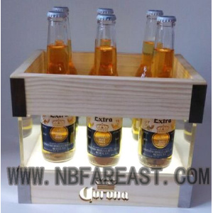 Guaranteed quality square wooden ice bucket