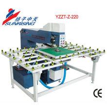Máquina de vidro YZZT-Z-220 perfurador com posição do laser