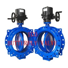 Water Double Eccentric Butterfly Valve