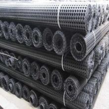 Black Asphalt Pavement Fiberglass Geogrid