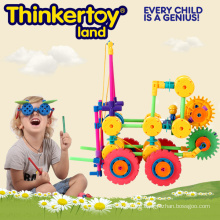 Educational Toy for Kids DIY Craft Themed Truck with Gears
