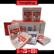 Melhores 555 Cartas de Baralho de Poker (YM-PC09)