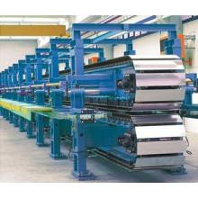 Ligne de production de panneaux sandwich