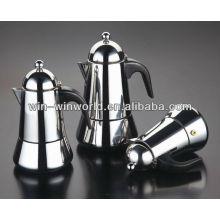 Máquinas de café espresso de acero inoxidable