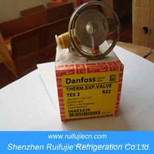 Válvula de expansión termostática de refrigeración Danfoss serie Tex2 / Tes2 / Ten2
