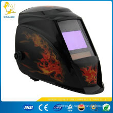 solar powered auto darkening welding helmet