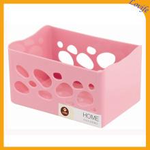 Plástico hueco 4 colores disponibles Cesta de almacenamiento
