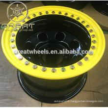15x10 Genuine Beadlock Steel SUV Wheels