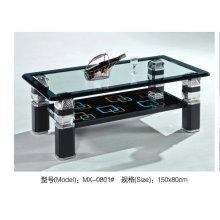 Хорошее качество стекла журнальный столик для офиса (MX0801)