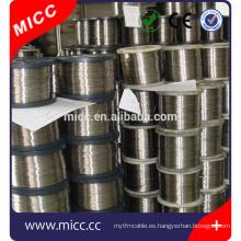 Alambre de aleación de níquel-cromo MICC aleación Cr20Ni30