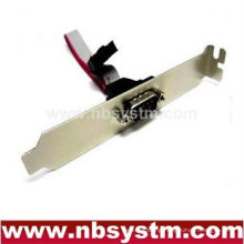 serial port bracket cable, DB9M expansion cable COM port cable RS232 cable