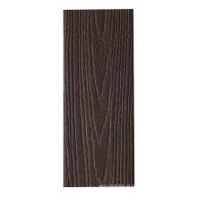 Decking composto plástico de madeira de Wpc do preço de fábrica para exterior
