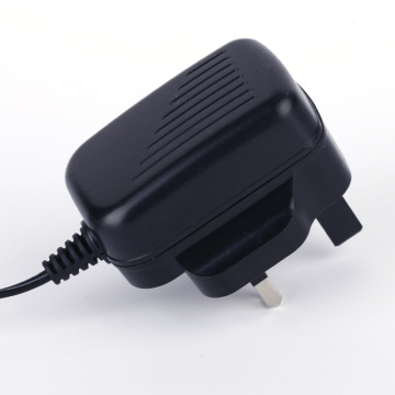 12V1A UK power adapter CE VI Rohs
