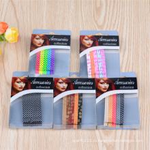 Леди мода красочные окрашенные металлические Украшения для волос Боб булавки (JE1007)