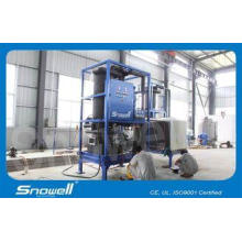 3T/D Tube Ice Making Machine / Maker High Efficient , R404A