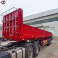 3 Axles 40Ton Sidewall Cargo Semi Trailer
