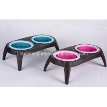 Folding Pet Double Bowl, Pet Products