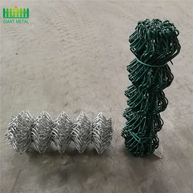 Pagar yang dipasang di Galvanized Hot Rolled Chain