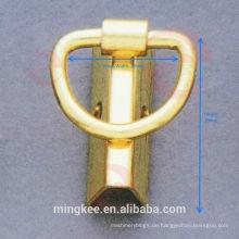 Nickelfreier Seiten- und Kantenbinderclip für Taschenzubehör (F6-137S)