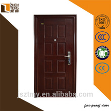hot product steel fire door 90 mins fire rated time cheap price