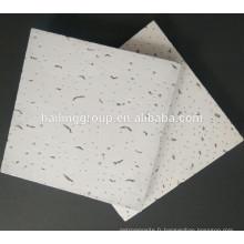 Plafond en fibre minérale