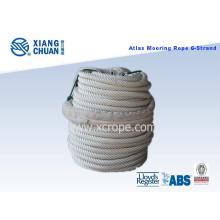 6 Strand Atlas (Nylon) Línea de Amarre con Certificado Lr Aprobado