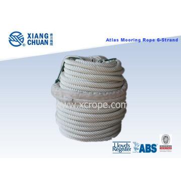 6 Strand Atlas (Nylon) Ligne d'amarrage avec certificat Lr approuvé