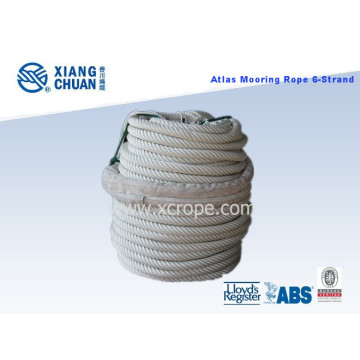 Gl Approved 6-Strand Cross-Laid Atlas Mooring Rope