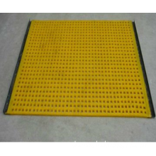 Polyurethane wire mesh cable tray
