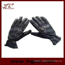 SWAT Airsoft Paintball Tactical Gear gants à doigts complet