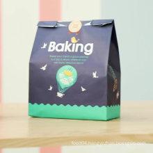 custom printed Fast Food Kraft paper bag