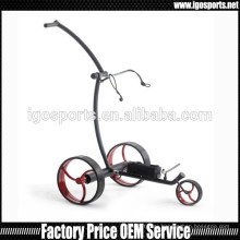 3 wheels electric golf trolley