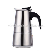 Máquinas de café espresso de la venta caliente Máquinas de café de Moka de acero inoxidable