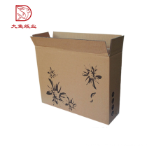 Factory OEM outer fashion China small laminated carton box package with print